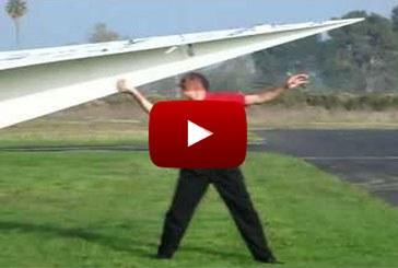 A világ legnagyobb papírrepülője